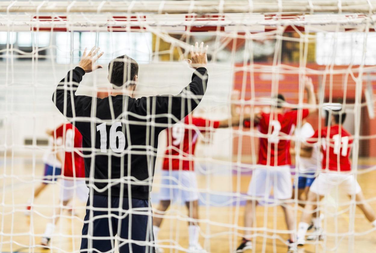 Målmandstræning i Hillerød Håndboldklub - Ambitionerne er at udvikle 'Danmarks bedste målmandsskole'.